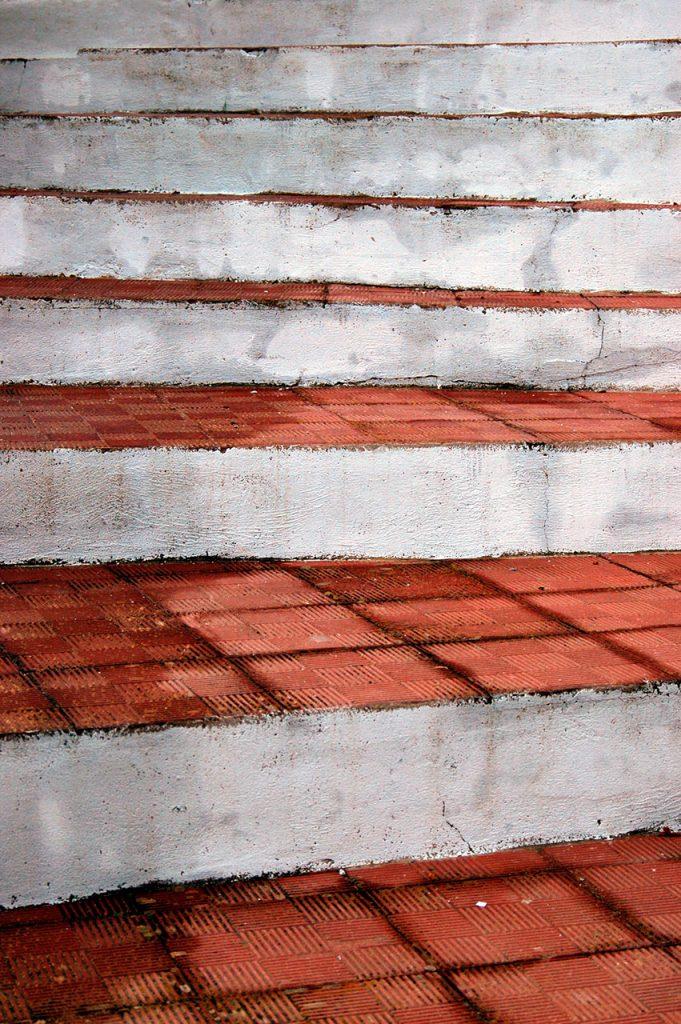 Foto para vender de detalle de una escalera