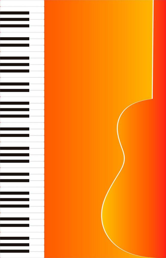 Ilustración música para vender en Internet
