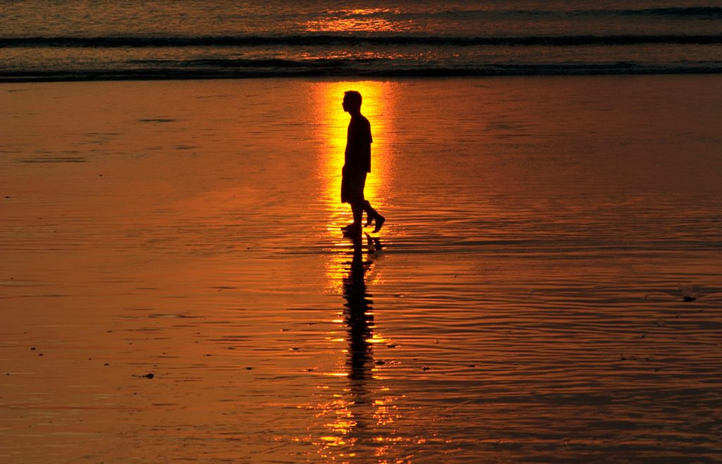 Puesta de sol en Bali
