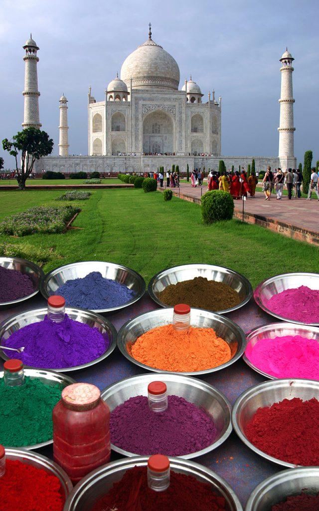 Taj Mahal, foto en venta en Internet